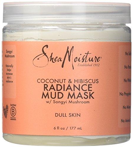 Shea Moisture - Coconut & Hibiscus Radiance Mud Mask