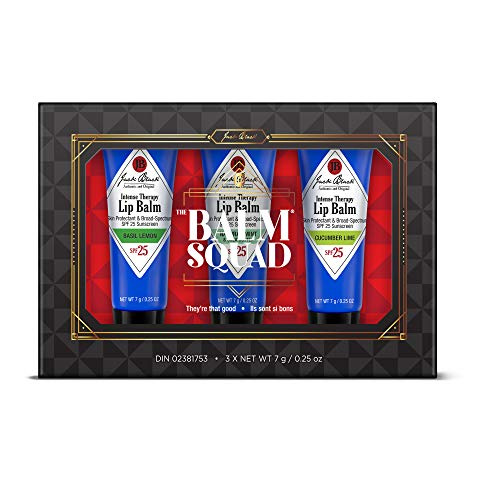 Jack Black - The Balm Squad Set - Intense Therapy Lip Balm SPF 25