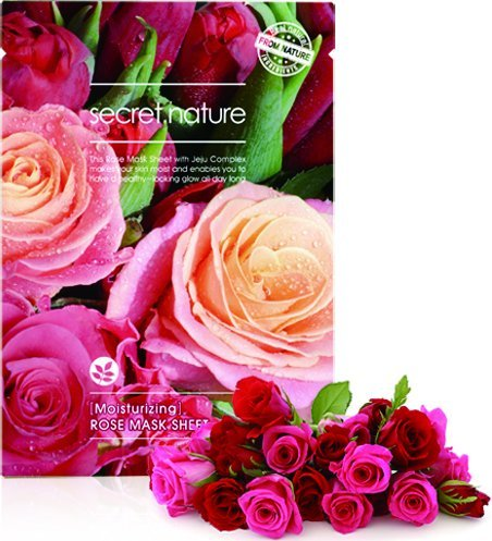 Secret Nature - Anti-Aging Facial Mask Sheet with Jeju Complex, Rose