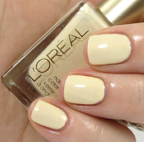 L'Oreal Paris - L'Oreal Spring 2013 Limited Edition Versailles Romance Collection Color Riche Nail Polish - 117 Creme Puffs