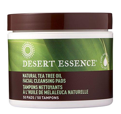 Desert Essence - Tea Tree Oil Facial Cleansing Pads