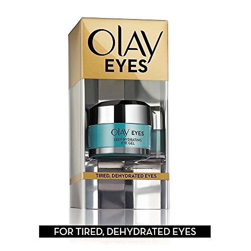 P&G-Olay - 0lay Eyes, Deep Hydrating Eye Gel Hyaluronic Acid, 0.5 fl oz - Tired, Dehydrated Eyes - SEALED