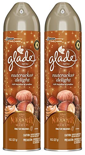 Glade - Glade Air Freshener Spray - Nutcracker Delight - Net Wt. 8 OZ (227 g) Per Can - Pack of 2 Cans