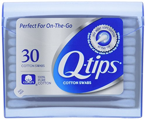 Q-Tips - Q-tips Swabs Purse Pack 30 Each ( Pack of 3)
