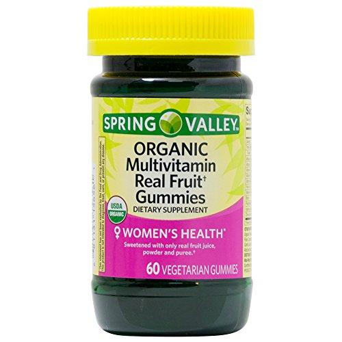 Spring Valley - Spring Valley Sv Organic Women's Multi Gummie 60ct