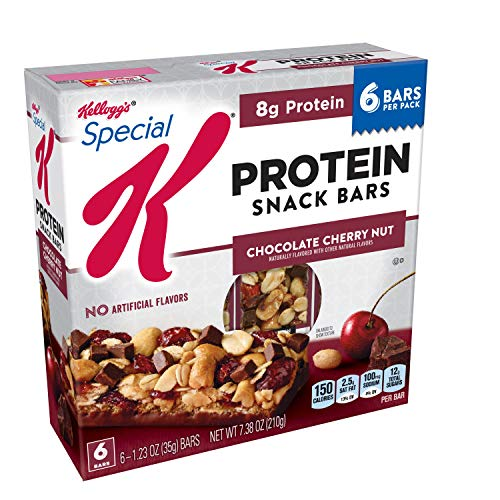 Special K - Special K Protein Snack Bars, Chocolate Cherry Nut, 7.38 oz (6 Count)