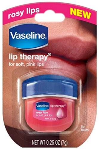 Vaseline - Vaseline Lip Therapy, Rosy Lips 1 ea (Pack of 12)