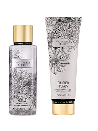 Victoria's Secret - Victoria's Secret Fragrance Body Lotion & Body Mist Set (Crushed Petals)