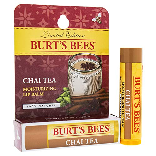 Burt's Bees - Burt's Bees Chai Tea Lip Balm Blister By Burts Bees for Unisex - 0.15 Oz Lip Balm, 0.15 Ounce