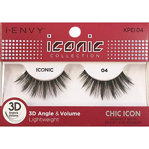 Kiss I Envy - Iconic 3D Angle & Volume Lashes, Chic Icon
