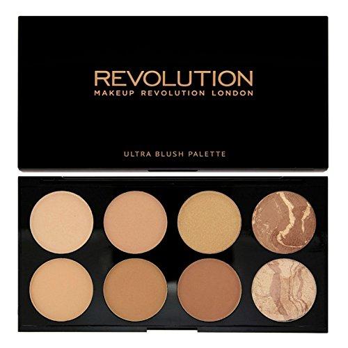 Makeup Revolution - Makeup Revolution All About Bronze. 8 Bronzing Powders Contouring Palette by Makeup Revolution