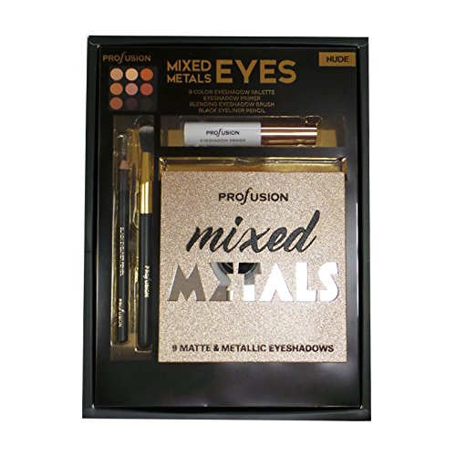 Profusion - Mixed Metals & Eyes Palette, Nude