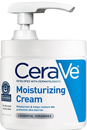 CeraVe - CeraVe Moisturizing Cream with Pump 16 oz Daily Face and Body Moisturizer for Dry Skin