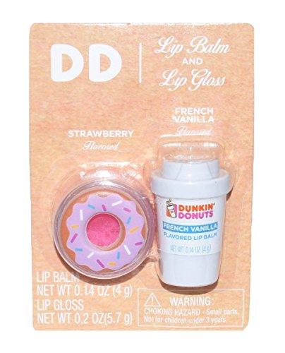 Dunkin' Donuts - Dunkin Donuts Lip Balm Limited French Vanilla Flavor (Lip Balm & Gloss)