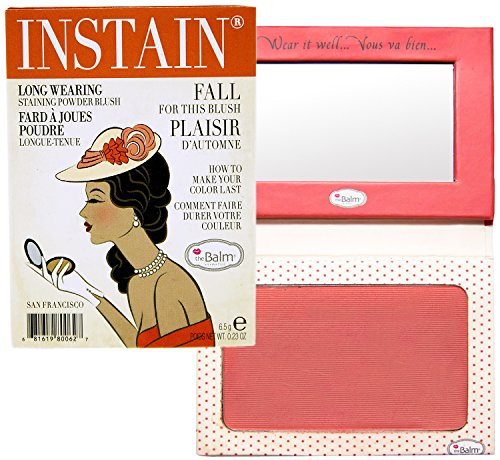the Balm  Instain Long-Wearing Powder Staining Blush, Swiss Dot
