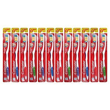 Colgate - Colgate Toothbrushes Premier Extra Clean ( 12 Toothbrushes)