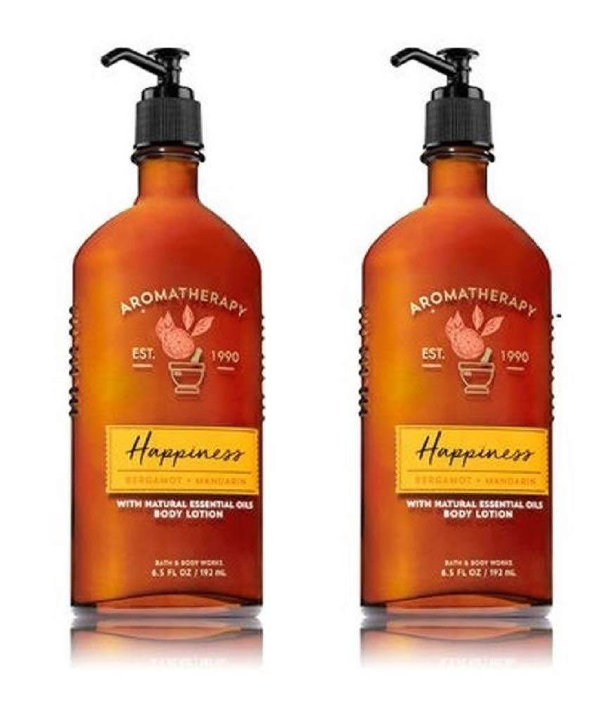 Bath & Body Works - Bath and Body Works Happiness Bergamot and Mandarin Body Lotion 2 Pack