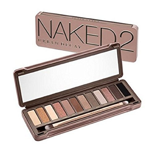 Urban Decay - Naked 2 MAPING SHOP Eyeshadow Palette 100% Authentic 12 pigment-rich