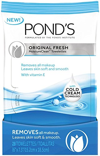 Pond's - Pond's Original Fresh MoistureClean Towelettes With Cold Cream Technology 28 count