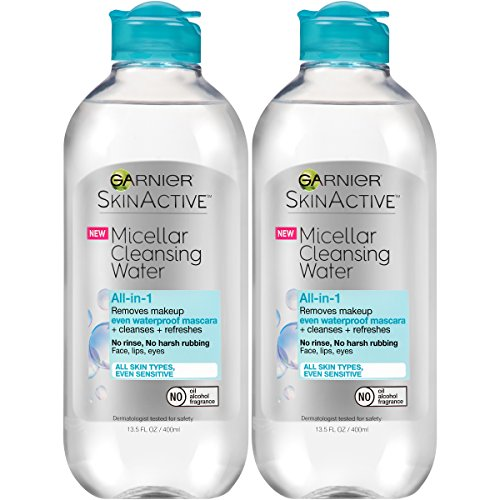 Garnier - SkinActive Micellar Cleansing Water, For Waterproof Makeup