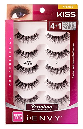 Kiss Kiss I Envy Beyond Naturale 01 Lashes Demi Wispies Value Pack