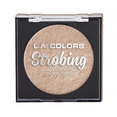 L.A. Colors - L.A. COLORS Strobing Illuminating Powder - Champagne