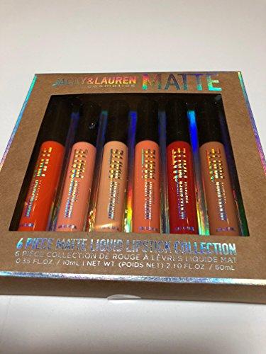 Jack & Lauren - Matte Liquid 6 piece Lipstick Collection