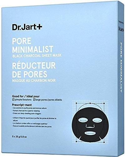 Dr. Jart - Pore Minimalist Mask Black Charcoal Sheet Mask