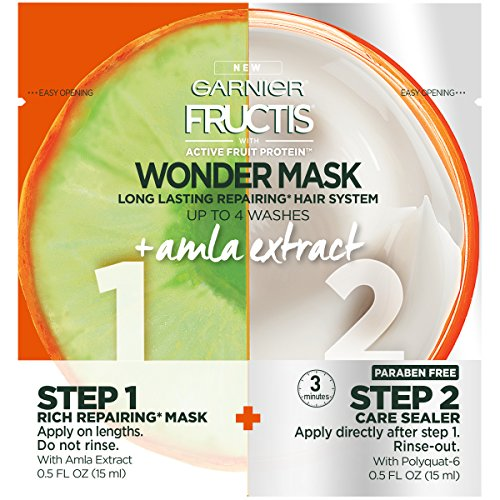 Garnier - Garnier Fructis Amla Wonder Mask Hair Treatment, 1 fl. oz.