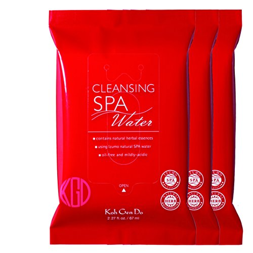Koh Gen Do - Koh Gen Do Cleansing Water Cloth, 3 x 10 Wipes