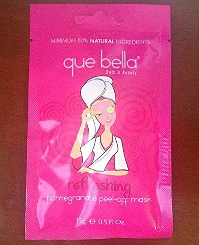 Que Bella - Refreshing Pomegranate Peel-Off Mask