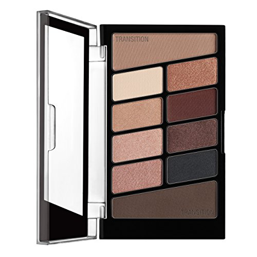 wet n wild - wet n wild Color Icon Eyeshadow 10 Pan Palette, Nude Awakening, 0.3 Ounce