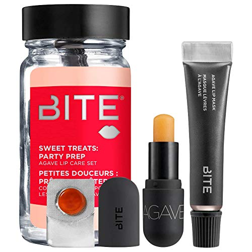 Bite Beauty Sweet Treats: Party Prep Agave Lip Care Mini Set in Champagne