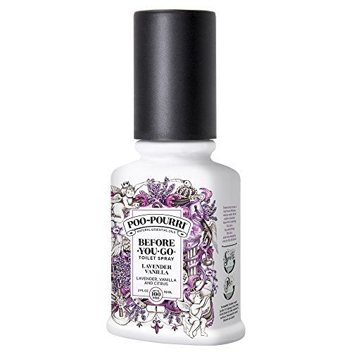 Poo-Pourri - Poo-Pourri Before-You-Go Toilet Spray 2 oz Bottle, Lavender Vanilla Scent