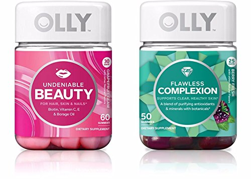 Olly  Hair, Skin, and Nail Vitamin Gummies
