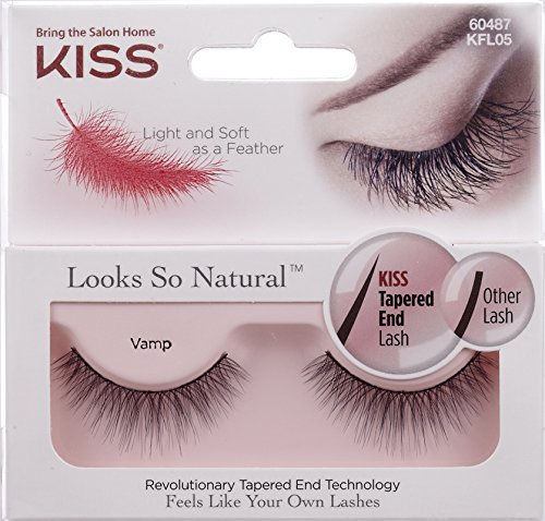 null - NEW KISS Looks So Natural VAMP Lashes - KFL05 by Kiss