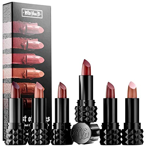 Kat Von D - Kat Von D Best of Nudes Mini Studded Kiss Creme Lipstick Set