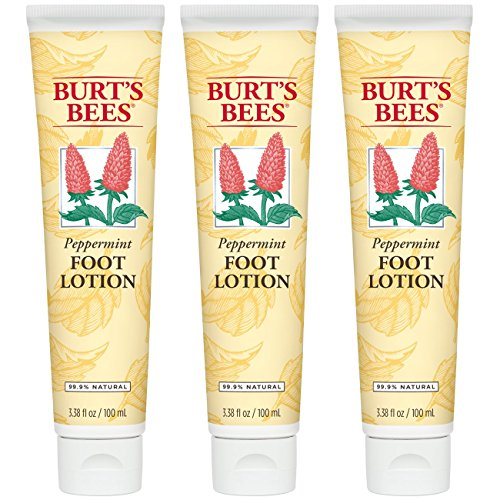 Burt's Bees - Burt's Bees Peppermint Foot Lotion - 3.38 Ounce Tube (Pack of 3)