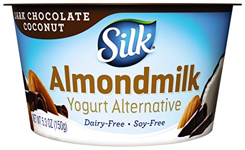 Silk Silk Almondmilk Yogurt Alternative, Dark Chocolate Coconut, Vegan, 5.3 oz
