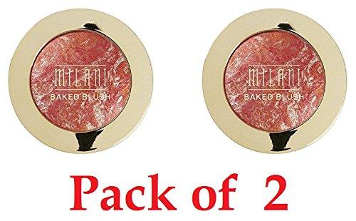 Milani - Milani Baked Blush, Corallina 0.12 oz (Pack of 2)