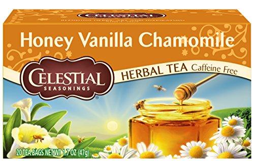 Celestial Seasonings - Celestial Seasonings Herbal Tea, Honey Vanilla Chamomile, 20 Count