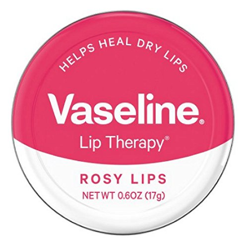Vaseline - Vaseline Lip Therapy Lip Balm, Rosy Lips 0.6 oz (Pack of 11)