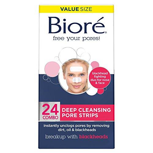 Bioré Deep Cleansing Pore Strips Combo Pack