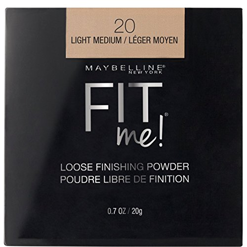 Maybelline New York Maybelline Fit Me Loose Finishing Powder, Light Medium, 0.7 oz.