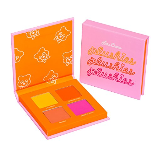Lime Crime Lime Crime Plushies Pressed Pigment Eyeshadow Quad Makeup Palette (Fresh Squeezed)