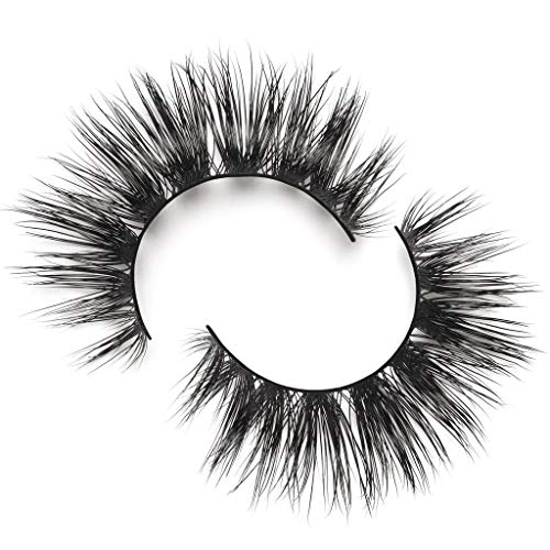 Lilly Lashes Lilly Lashes Mykonos Lite | False Eyelashes | Dramatic Look and Feel | Reusable | Non-Magnetic | 100% Handmade & Cruelty-Free