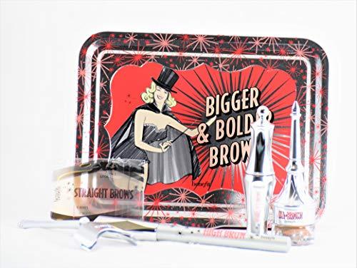 Benefit Cosmetics - Benefit Cosmetics Bigger & Bolder Brows Kit Color 03 Medium - light to medium brown, redheads (neutral-warm)