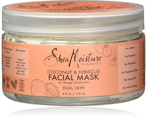 Shea Moisture - Coconut Hibiscus Facial Mask, Songyi Mushroom