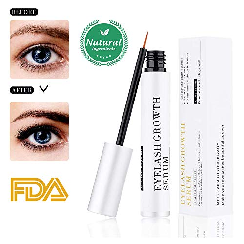 Olymstars - Upgraded-Olymstars Eyelash Growth Serum 2.0 Brow & Lash Rapid Growth Enhancer Booster Essence Irritation Free Formula for Longer Thicker Strong Eyelashes Eyebrows Conditioner 5ml