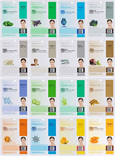 Dermal Collagen Essence Full Face Facial Mask Sheet
